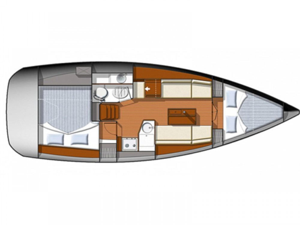 Rental Sailboat in  - Jeanneau Sun Odyssey 33i