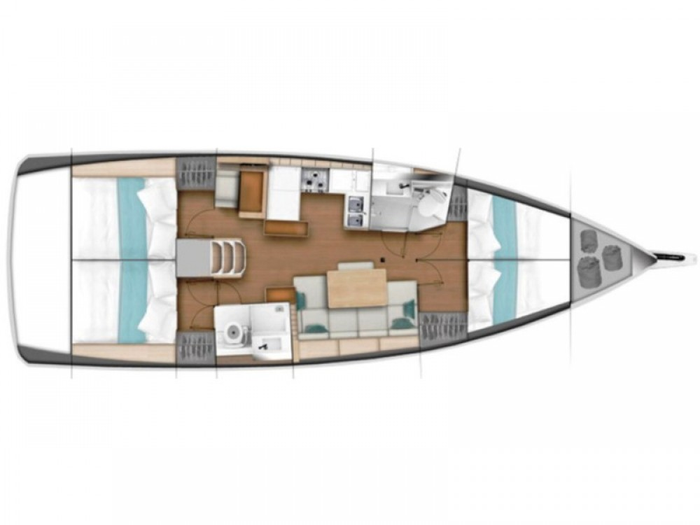 Boat rental Marina Gouvia cheap Sun Odyssey 440