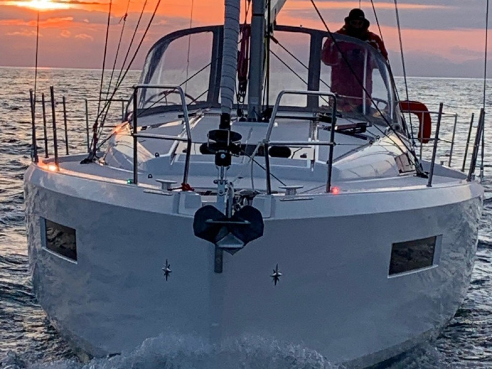 Boat rental Jeanneau Sun Odyssey 440 in Marina Gouvia on Samboat