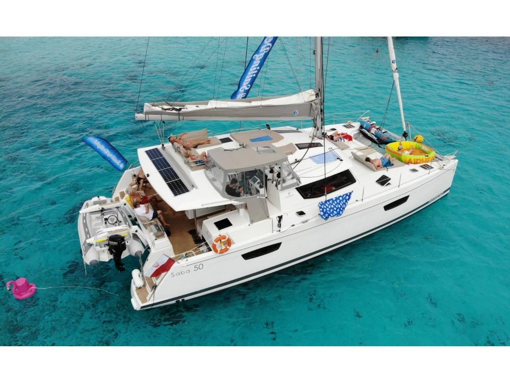 Rental yacht Victoria - Fountaine Pajot Saba 50 [8 CAB] on SamBoat