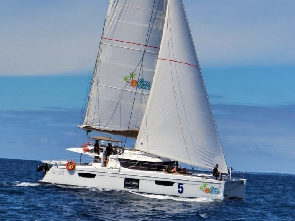 Boat rental Fountaine Pajot Saba 50 [7 CAB] in Victoria on Samboat