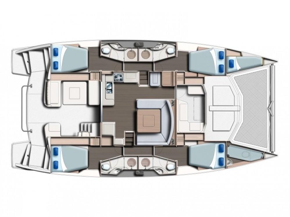 Boat rental Victoria cheap Leopard 48