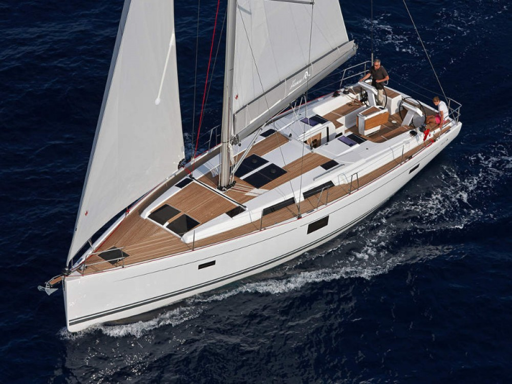 Rental Sailboat in Rogoznica - Hanse Hanse 455