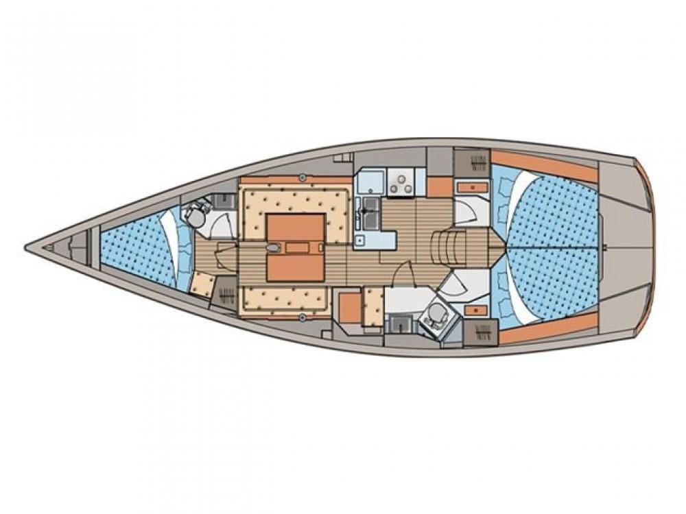Rental Sailboat in Old Faliron - Elan Elan 40