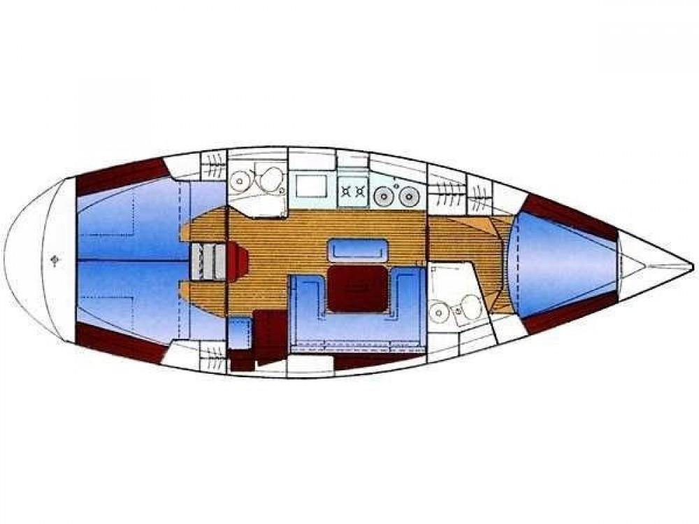 Rental yacht Volos Municipality - Bavaria Bavaria 38 Holiday on SamBoat