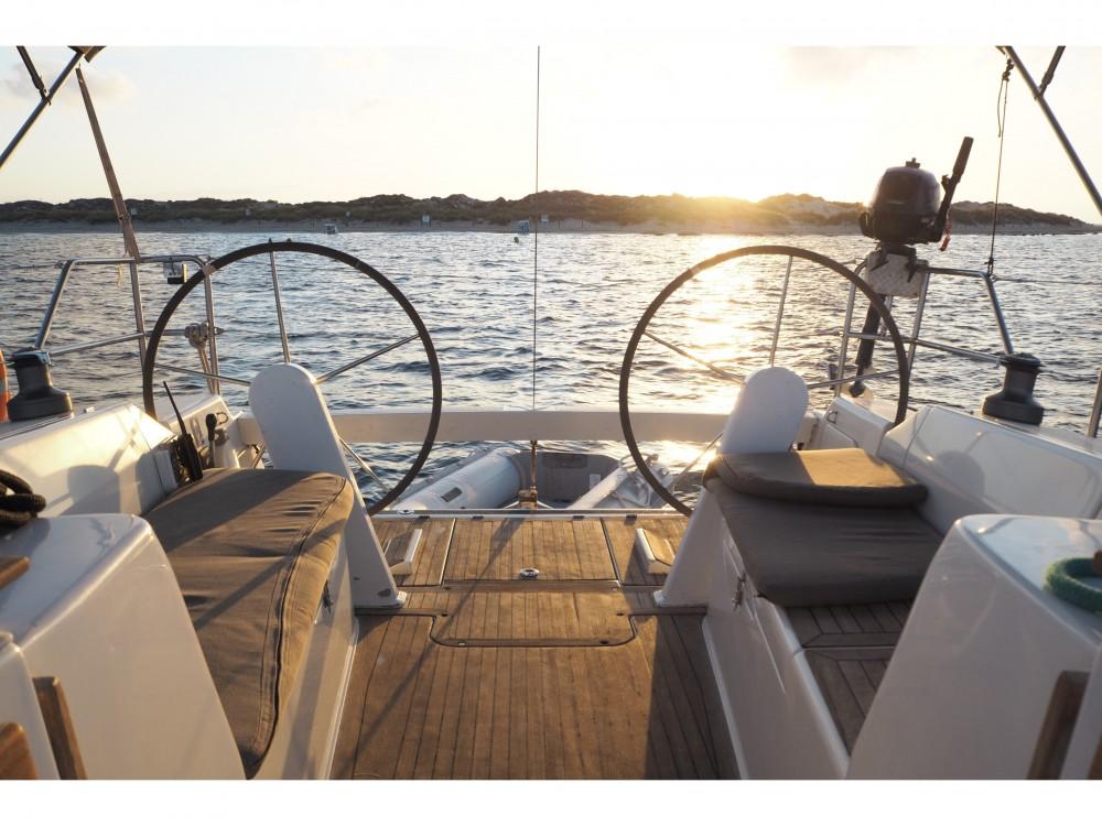 Boat rental Alicante cheap Hanse 375
