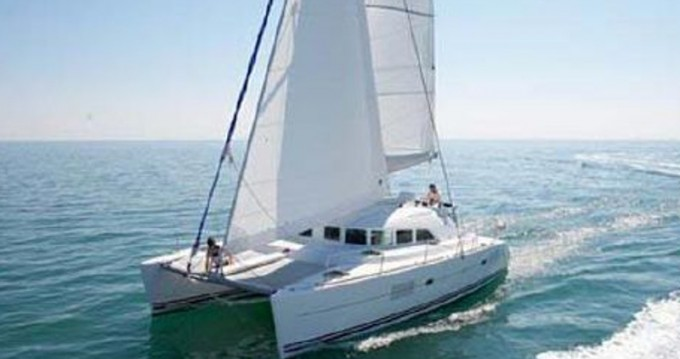 Hire Catamaran with or without skipper Lagoon Ibiza Town