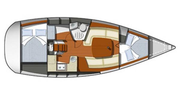 Rental yacht Rogoznica - Jeanneau Sun Odyssey 32i on SamBoat