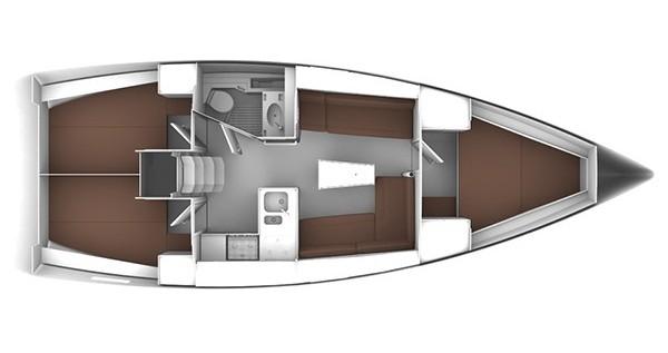 Bavaria Cruiser 37 between personal and professional Rogoznica