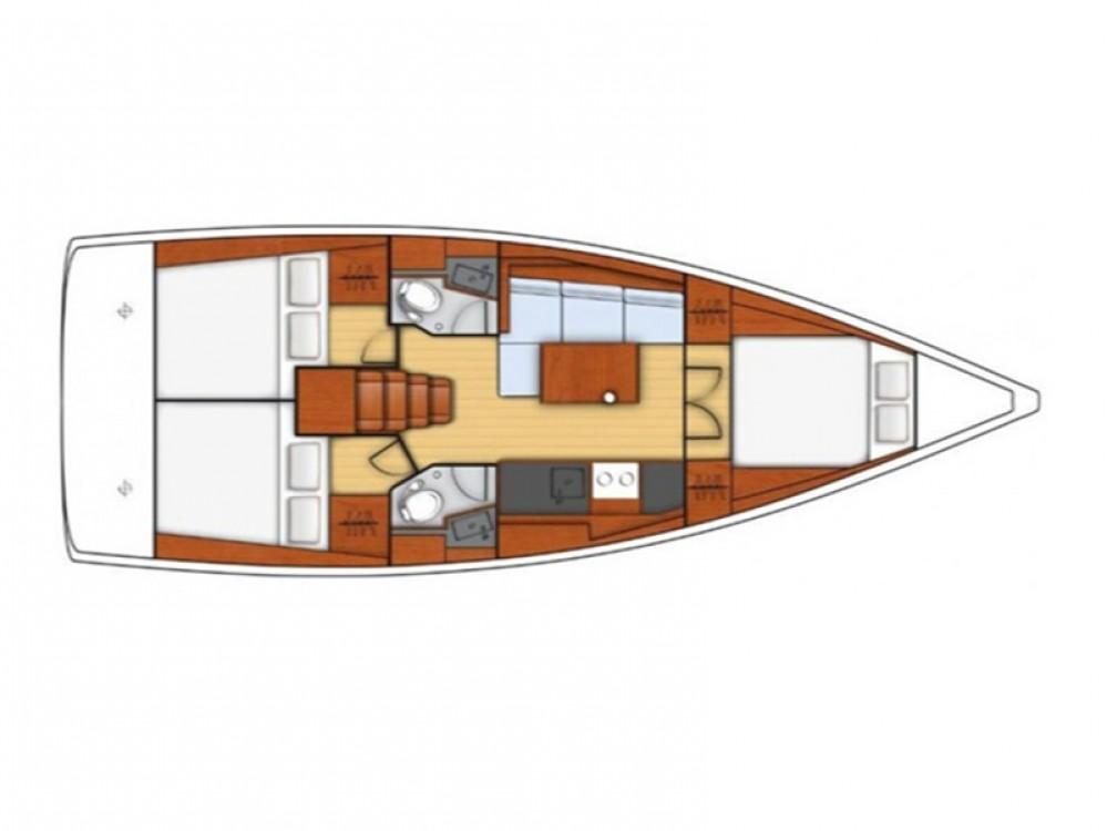 Boat rental Álimos cheap Oceanis 38.1
