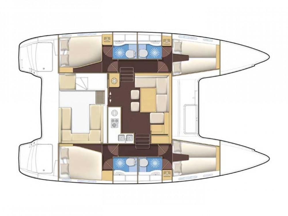 Rental yacht Dennysville - Lagoon Lagoon 400 S2 on SamBoat
