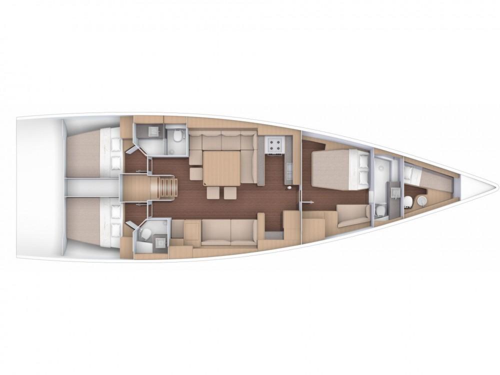 Boat rental Castellammare del Golfo cheap Dufour 56 Exclusive
