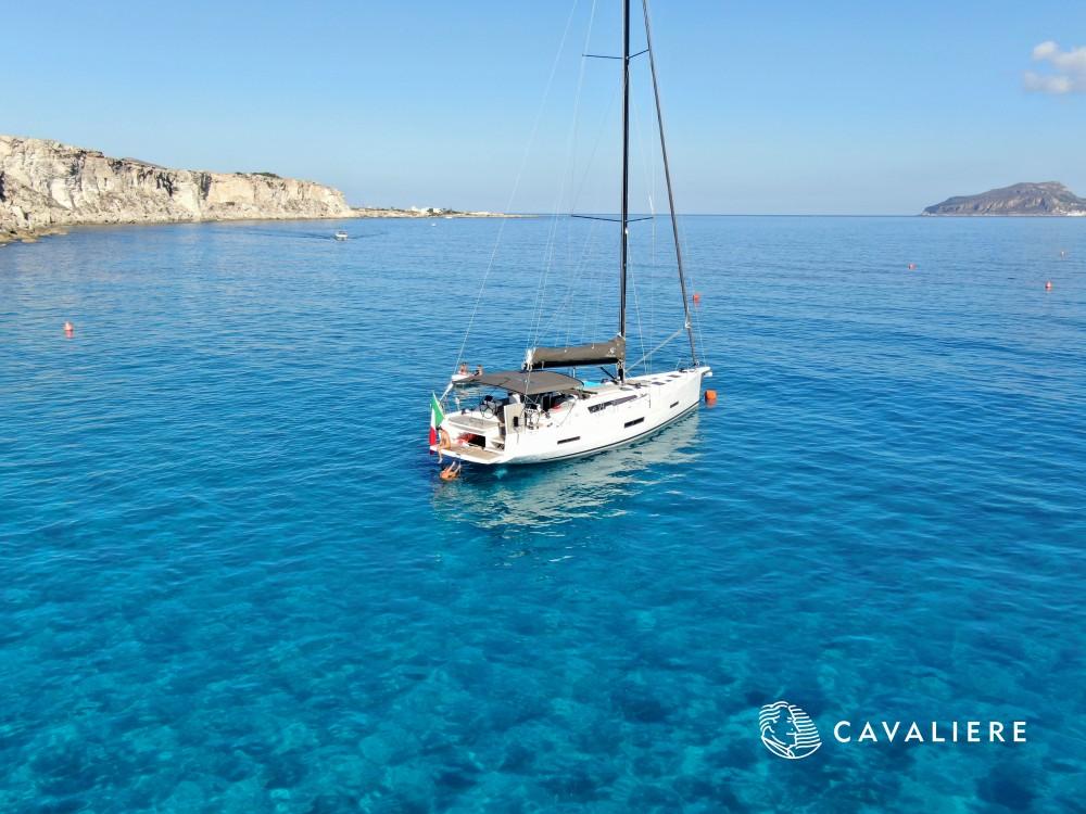 Boat rental Marsala Marina cheap Dufour 56 Exclusive