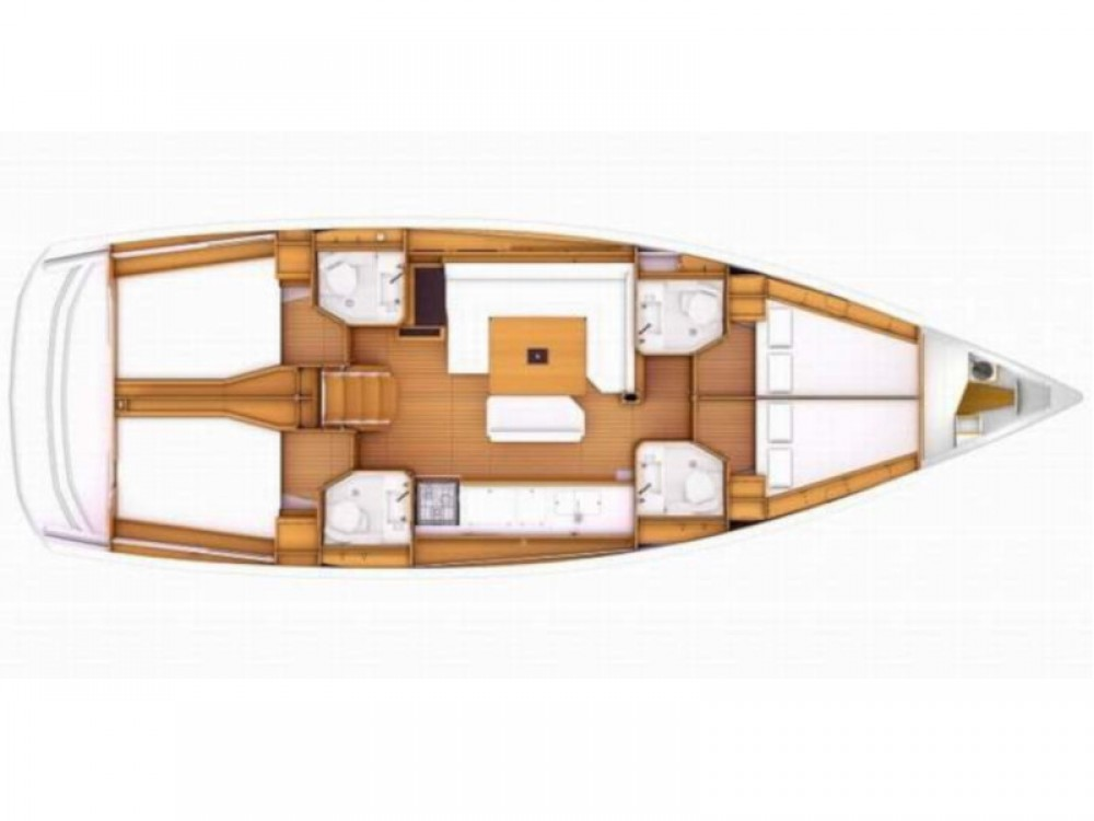 Sailboat for rent Tropea at the best price