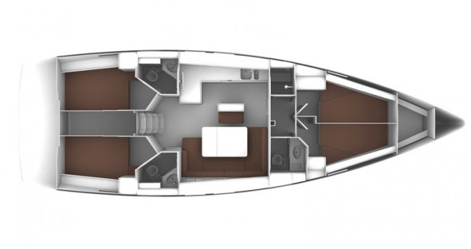 Boat rental Paros Island cheap Cruiser 46