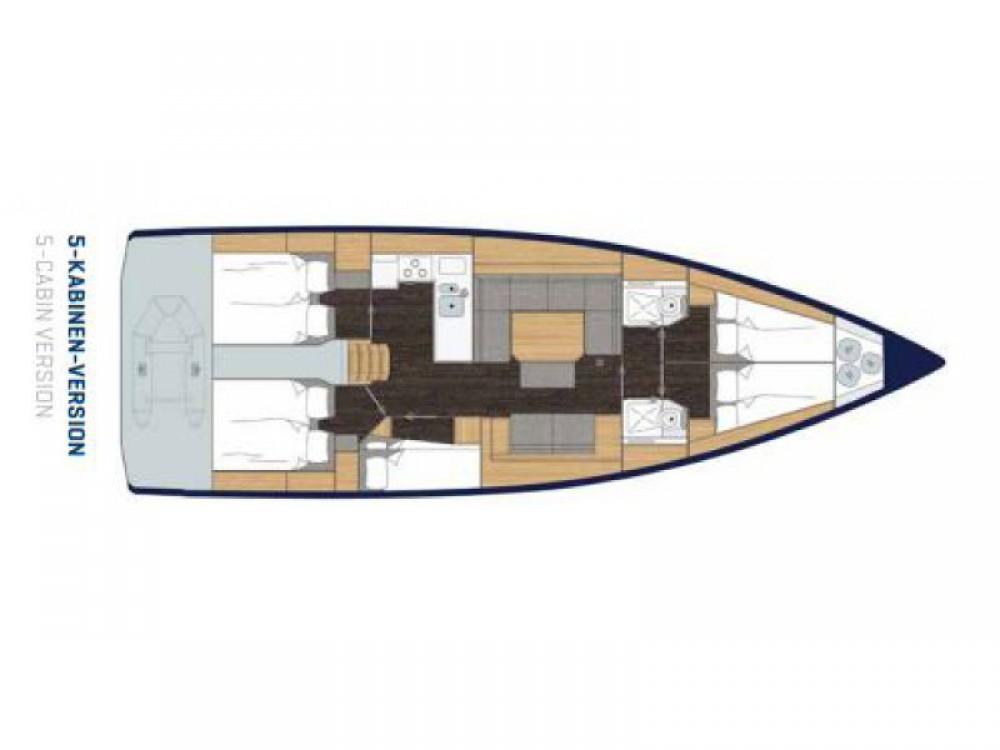 Rental Sailboat in Greece - Bavaria Bavaria C45
