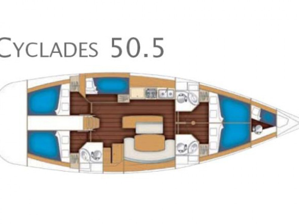 Bénéteau Cyclades 50.5 between personal and professional Gothenburg