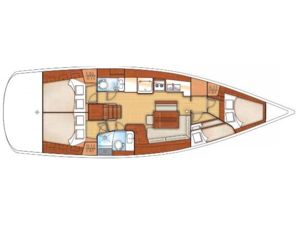 Boat rental San Miguel de Abona cheap Oceanis 46
