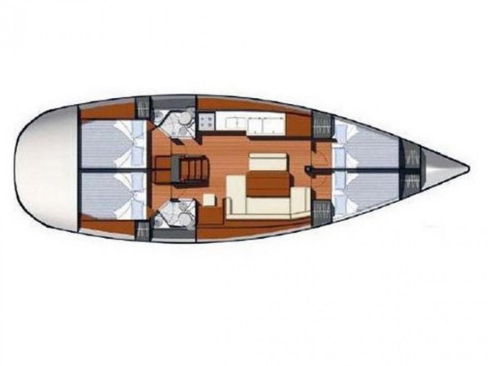 Rental yacht San Miguel de Abona - Jeanneau Sun Odyssey 44 i on SamBoat