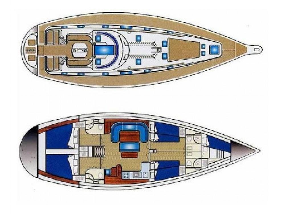 Rental Sailboat in Volos Municipality - Ocean Ocean Star 51.2