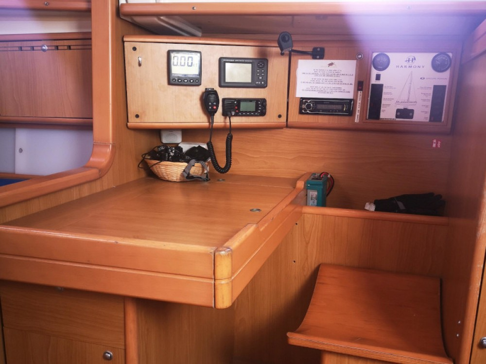 Hire Sailboat with or without skipper Poncin Roses