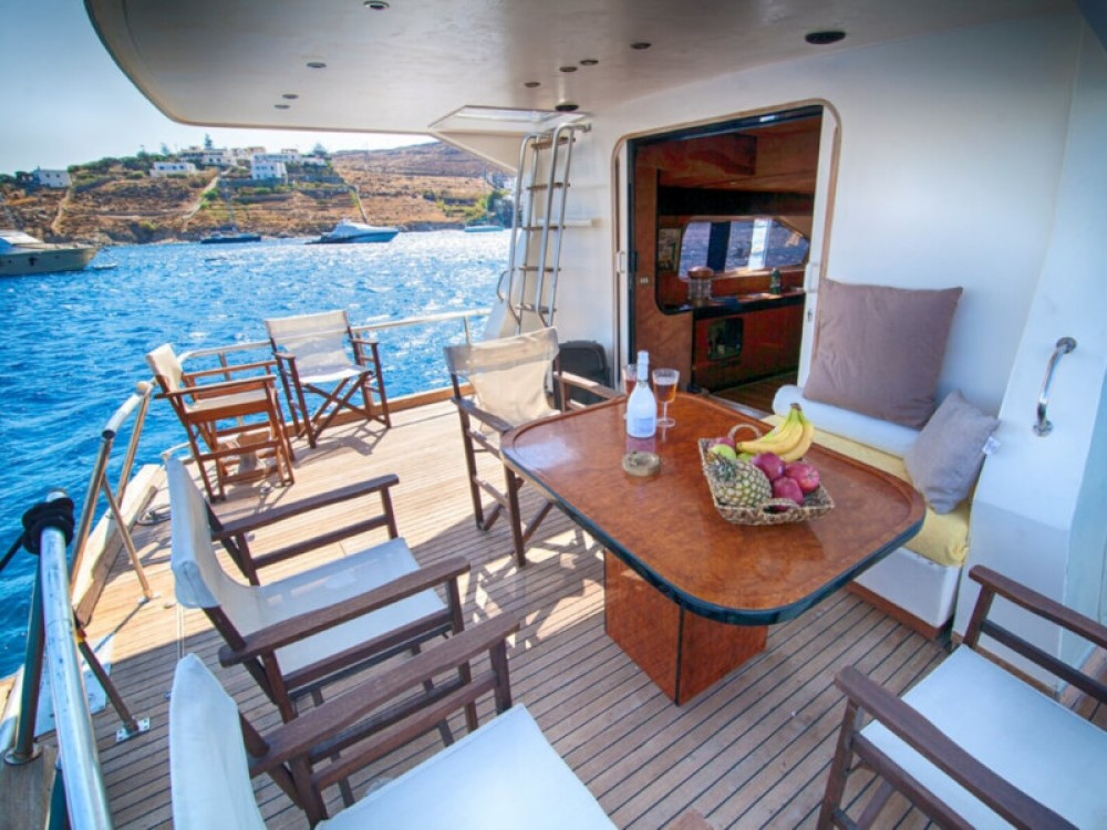Motor boat for rent Mykonos at the best price