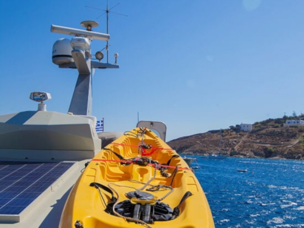 Maiora Maiora Fly 58ft between personal and professional Mykonos