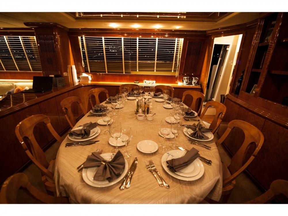 Boat rental Mykonos cheap Falcon 100ft