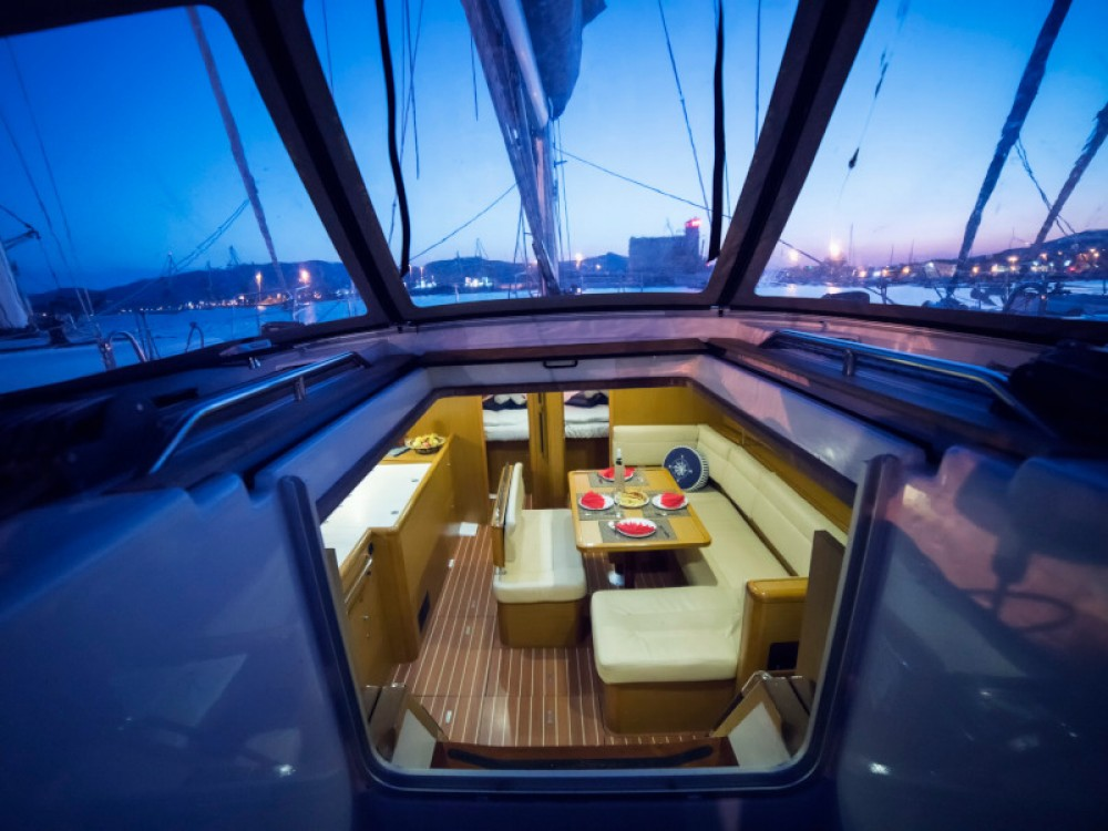Jeanneau Sun Odyssey 44 i between personal and professional Volos Municipality