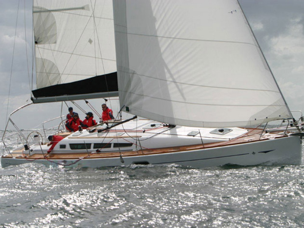 Jeanneau Sun Odyssey 42 i between personal and professional Volos Municipality