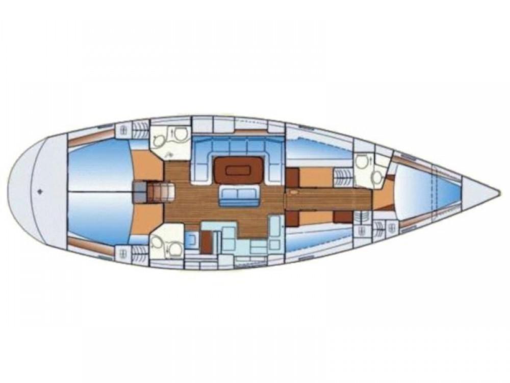 Boat rental Bavaria Bavaria 50 Cruiser in Fethiye on Samboat