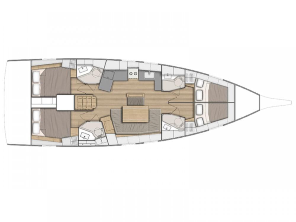 Rental yacht Fethiye - Bénéteau Oceanis 461 on SamBoat