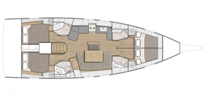 Bénéteau Oceanis 46.1 between personal and professional Fethiye
