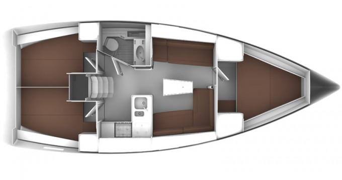 Boat rental Lanzarote cheap Cruiser 37