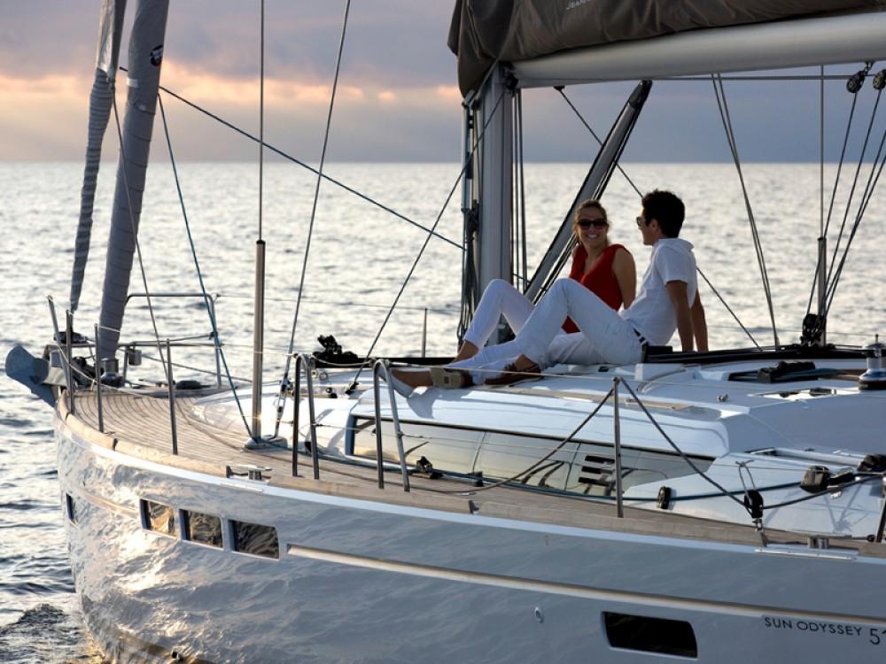 Jeanneau Sun Odyssey 519 between personal and professional Arrecife