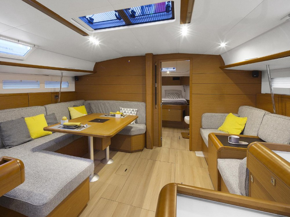 Jeanneau Sun Odyssey 519 between personal and professional Can Pastilla