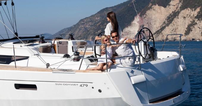 Rental Sailboat in Lanzarote - Jeanneau Sun Odyssey 479