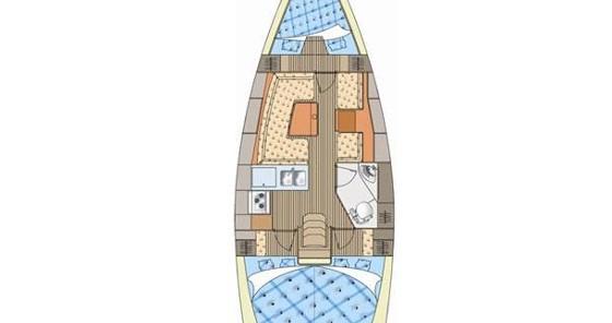 Rental Sailboat in Pirita - Elan Impression 344