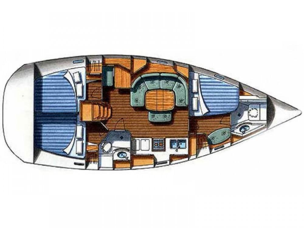 Rental Sailboat in Port Olímpic - Bénéteau Oceanis 393 Clipper