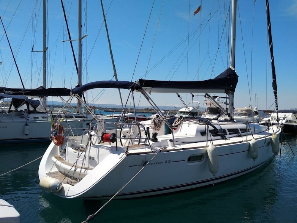 Rental yacht Port Olímpic - Jeanneau Sun Odyssey 42 i on SamBoat