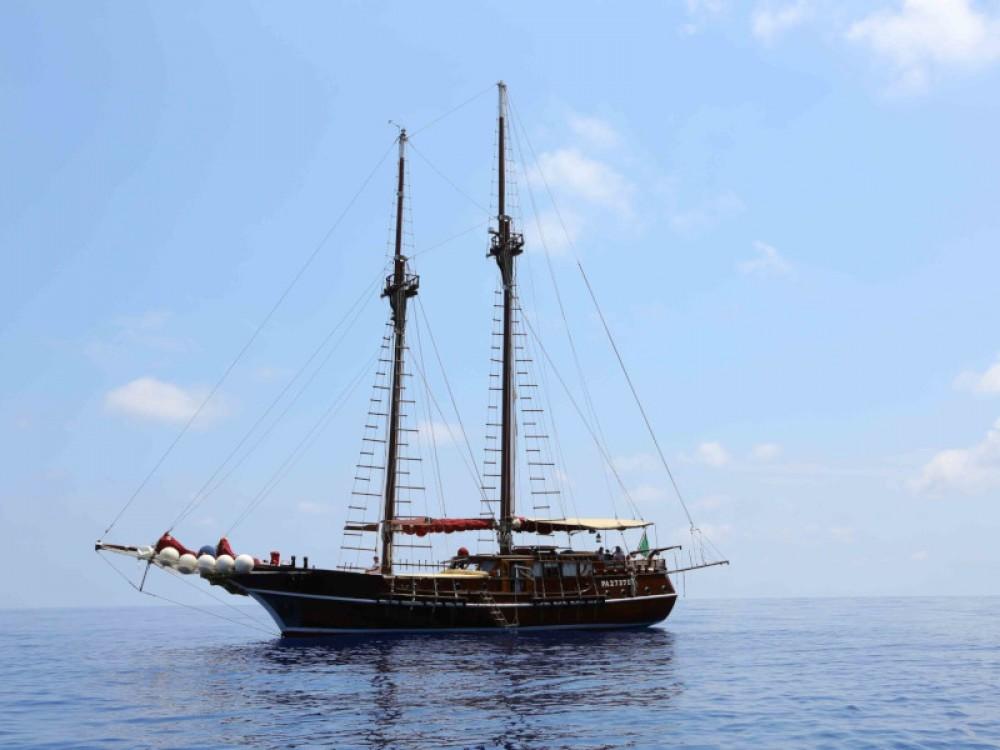 Boat rental Milazzo cheap Gulet