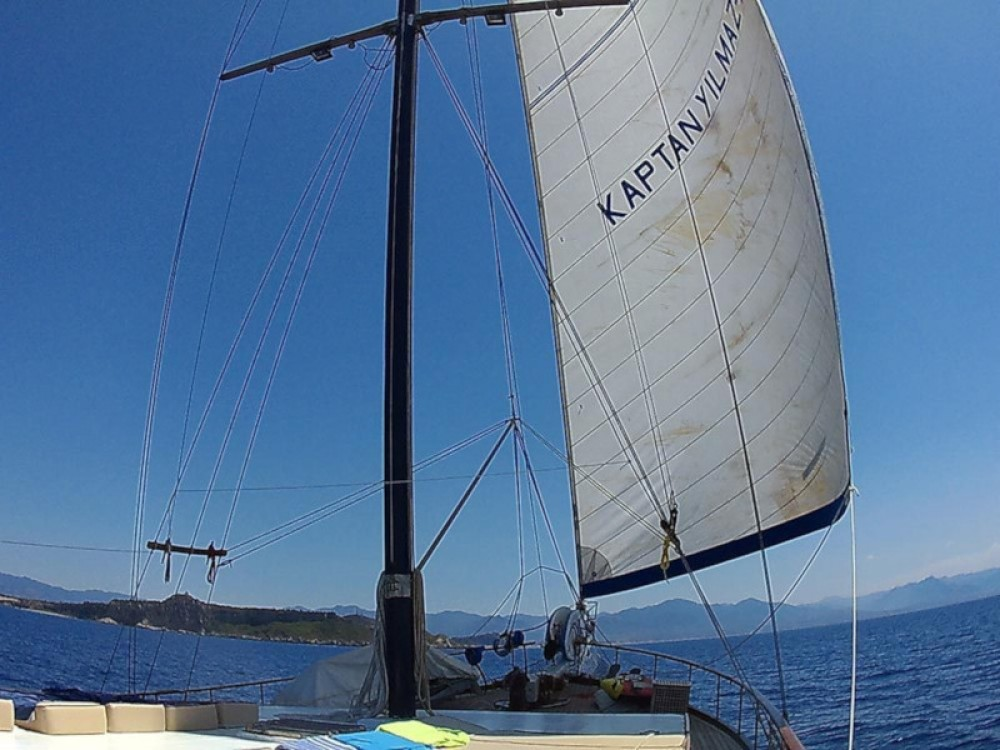 Rental Sailboat in Milazzo -  Gulet
