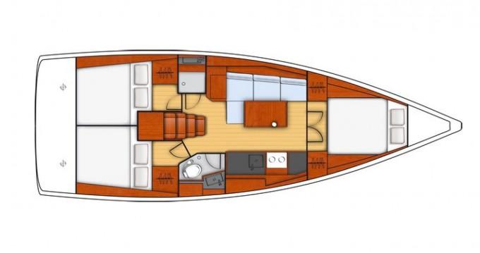 Rental yacht Pirita - Bénéteau Oceanis 38.1 on SamBoat