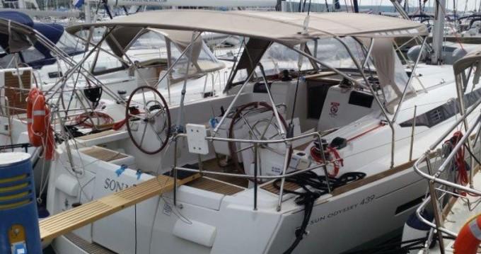 Rental Sailboat in Sukošan - Jeanneau Sun Odyssey 439