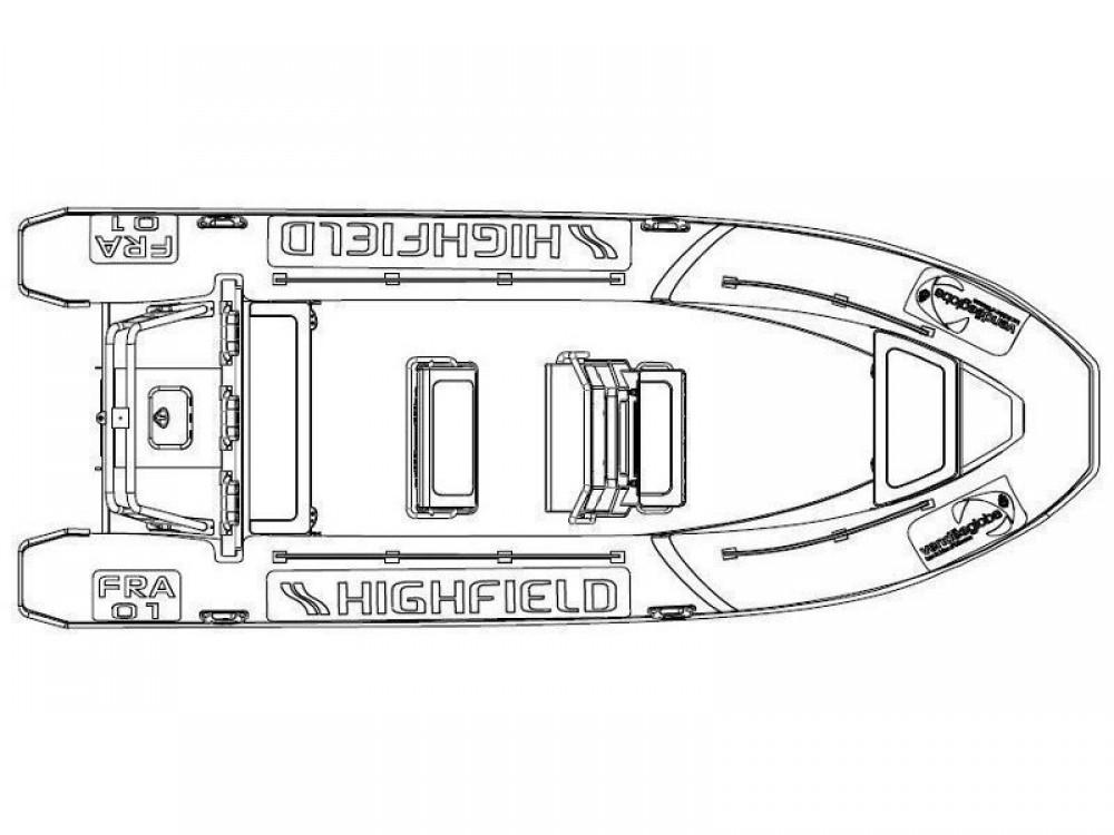 Rental yacht Sukošan -  Highfield Patrol 660 on SamBoat