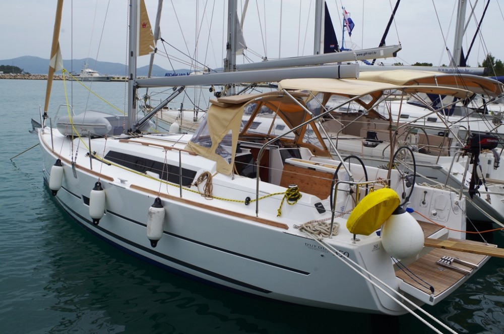 Rental yacht Sukošan - Dufour Dufour 350 GL on SamBoat