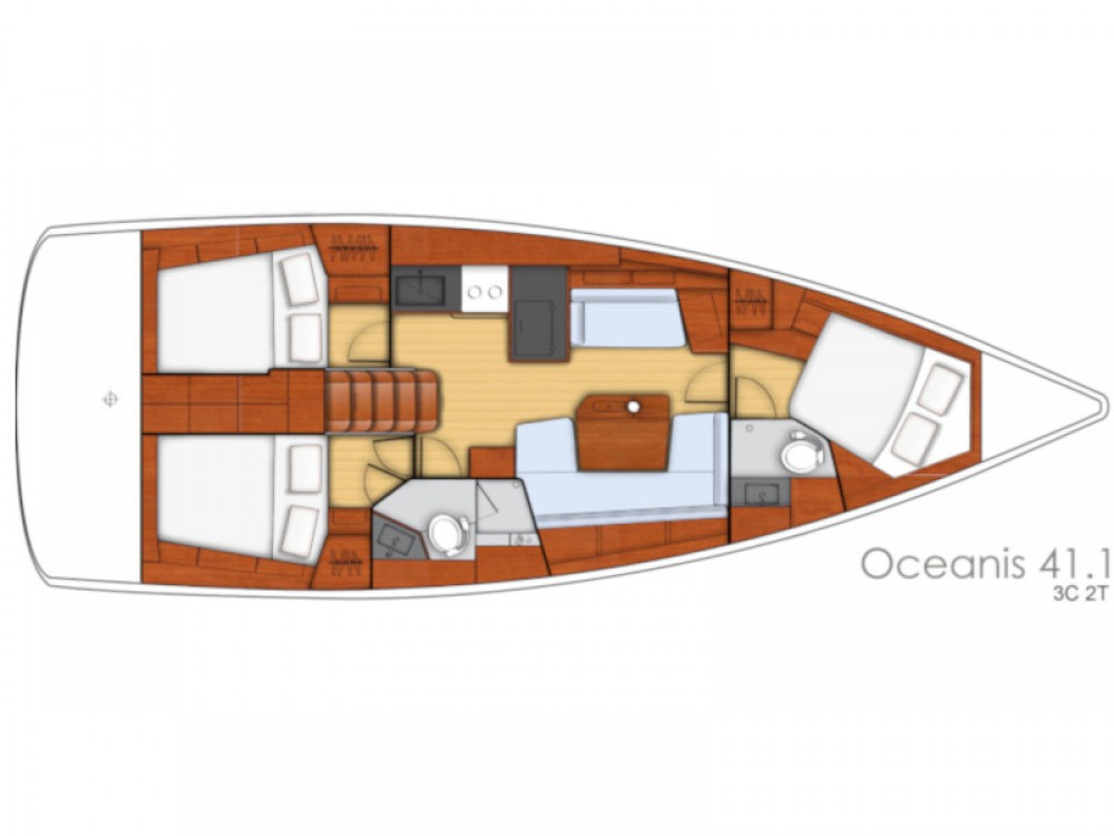 Rental yacht Primošten - Bénéteau Oceanis 41.1 on SamBoat