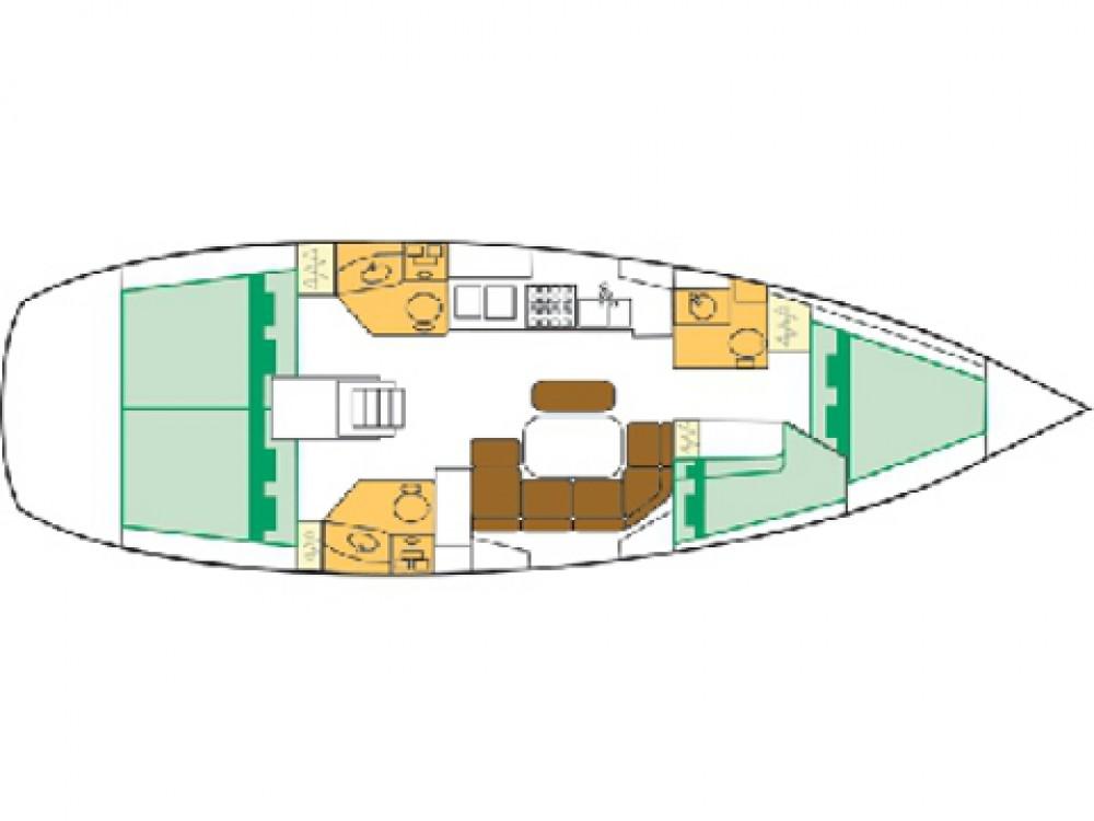 Rent a Bénéteau Oceanis Clipper 423 Sukošan