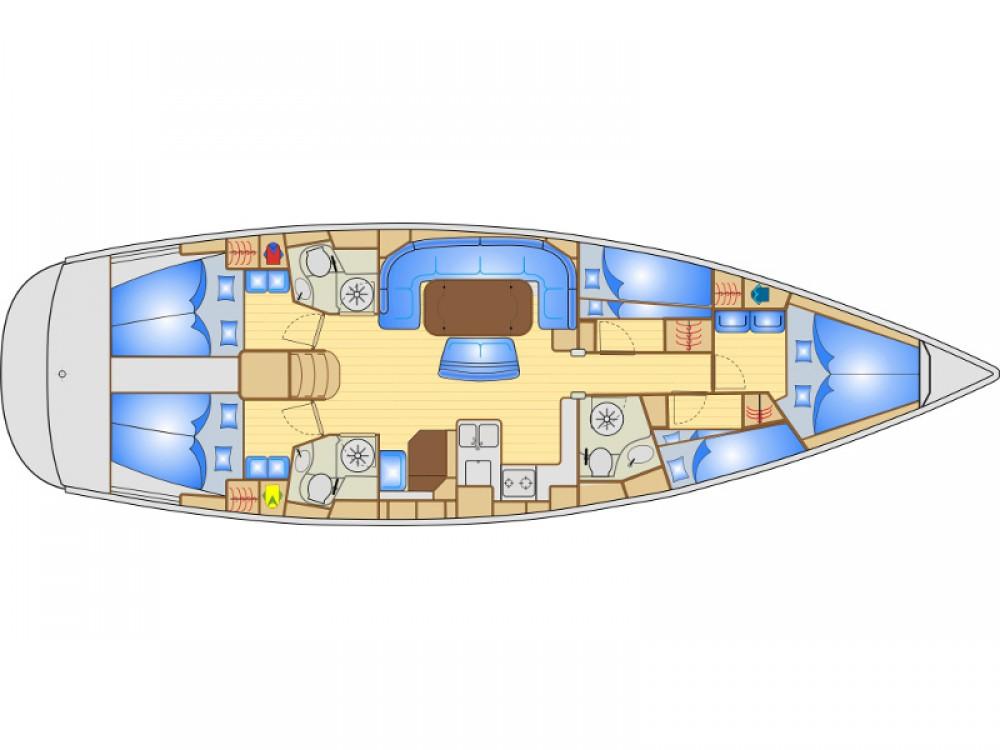 Rental yacht Primošten - Bavaria Bavaria 50 on SamBoat