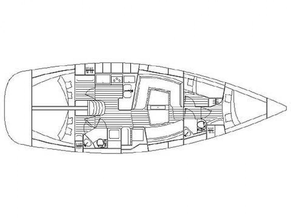 Boat rental Elan Elan 434 in Krk on Samboat